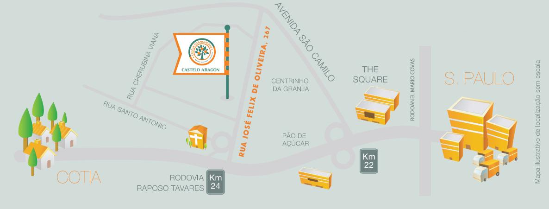 Mapa ilustrativo